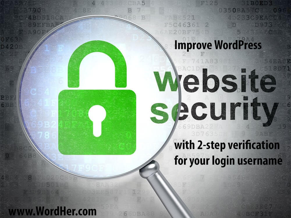 Add 2-Step Verification WordPress