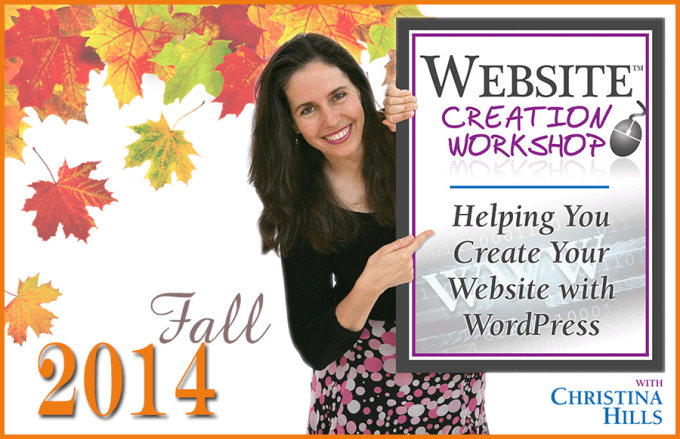 Helping You Create Your Website with WordPress: Website Creation Workshop