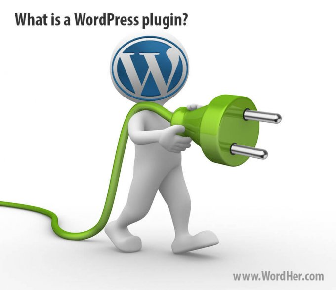 What is a WordPress plugin?  From the WordPress Glossary at WordHer.com.