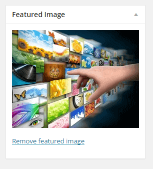 Remove Featured Image