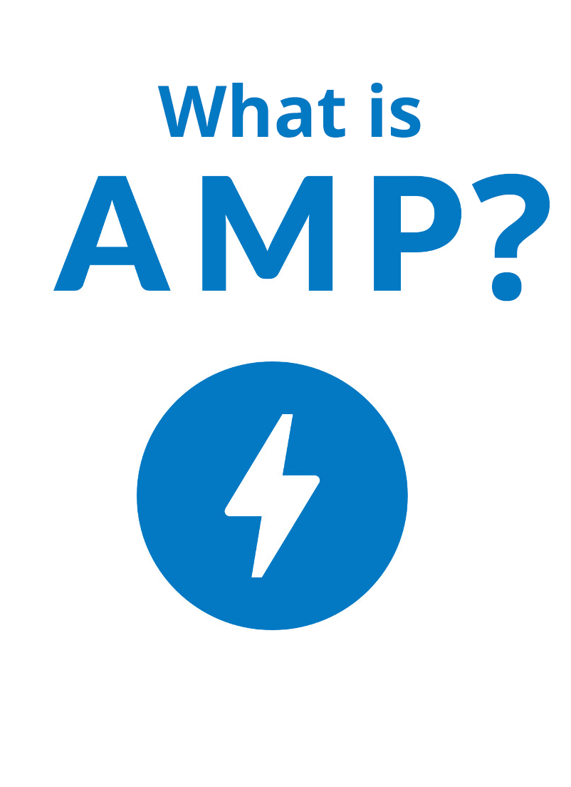 AMP (Accelerated Mobile Pages) is an open-standard project from Google designed to improve mobile user experience by making mobile websites faster.