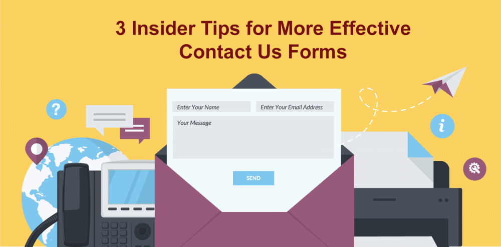3 Tips Contact Us Forms