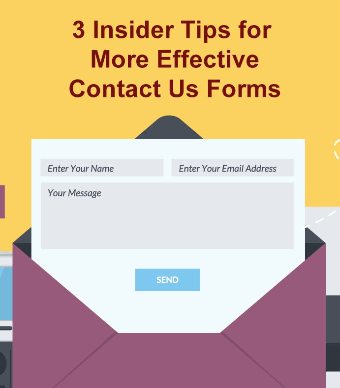 3 insider tips for making sure your #WordPress contact us forms reach you and are easy to respond to.